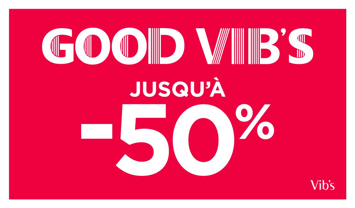 Opération Destockage « Good Vib's »
